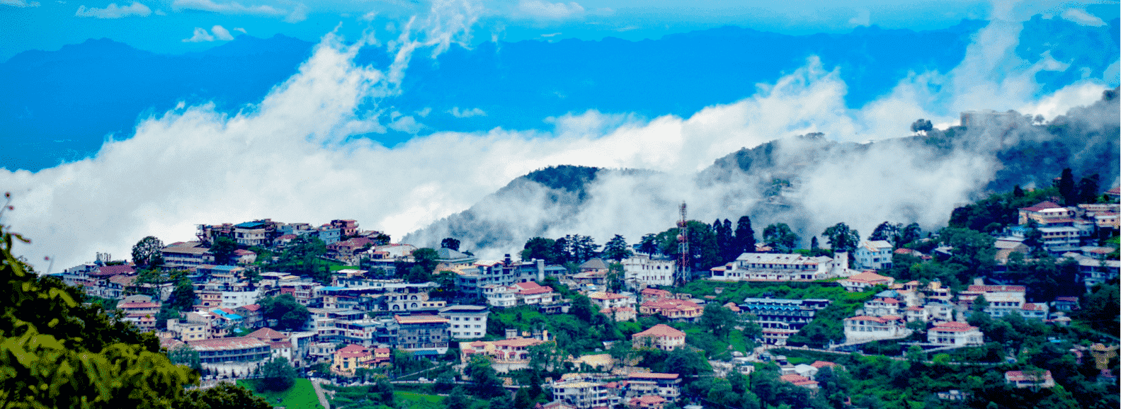 Mussoorie tourist place is one of the best places to visit in Uttarakhand